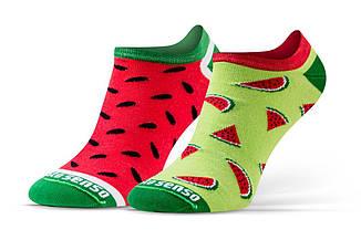 Женские носки Sesto Senso Watermelons (original) короткие заниженные спортивные