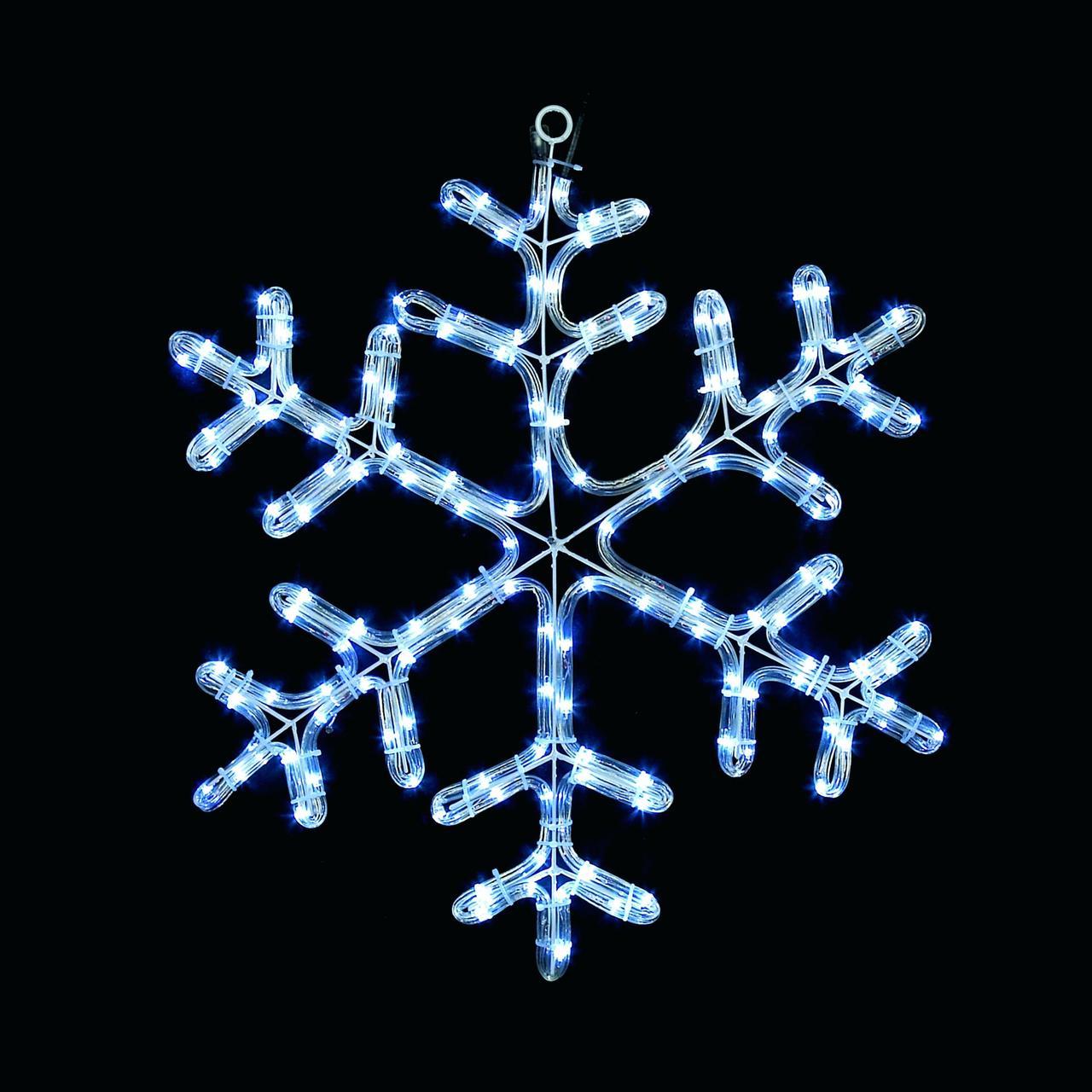 Светодиодное украшение Мотив Снежинка Lumion 60х60 см наружный цвет синий