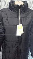 Мужская  куртка на синтепоне весна осень черная замеры в описании!