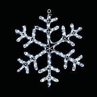 Светодиодное украшение Мотив Снежинка Lumion 60х60 см наружный цвет белый