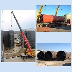 Рулонный метод монтажа резервуаров: скорость плюс качество