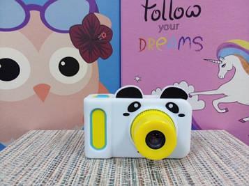 Чехол для фотоаппарата белый панда