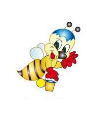 """Стенд для детских рисунков """"Пчела"""""""