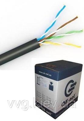 Витая пара КПП-ВП (100) 4х2х0,51 (UTP-cat.5E) для внешней прокладки Одескабель