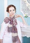 Рассказ о странствиях 1633-50, павлопосадский шарф шелковый крепдешиновый с шелковой бахромой, фото 8