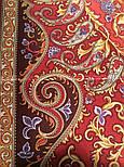 Рассказ о странствиях 1633-56, павлопосадский шарф шелковый крепдешиновый с шелковой бахромой, фото 5