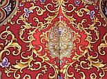 Рассказ о странствиях 1633-56, павлопосадский шарф шелковый крепдешиновый с шелковой бахромой, фото 8