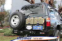 Силовой задний бампер Kaymar на  Toyota Land Cruiser 80 (LC-80)