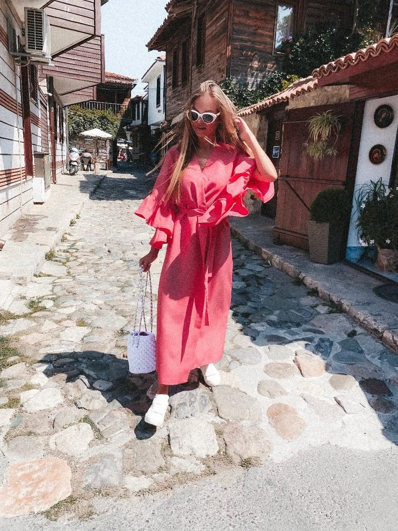 Женское стильное платье - кардиган  МВ528
