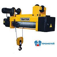 Тельфер «Yantra» 3200 кг, с монорельсовой тележкой, 9м, полиспаст 2х1