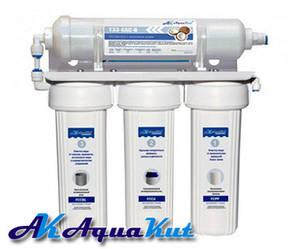 Фильтр под мойку трехступенчатый с постфильтром AquaKut
