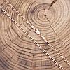 Цепочка 51387, длина 50 см, ширина 2 мм, вес 5.3 г, позолота РО, фото 2