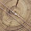 Цепочка 51387, длина 50 см, ширина 2 мм, вес 5.3 г, позолота РО, фото 7