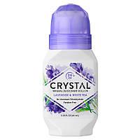 Роликовый дезодорант с ароматом Лаванды и Белого чая Crystal Essence Deodorant Roll-On