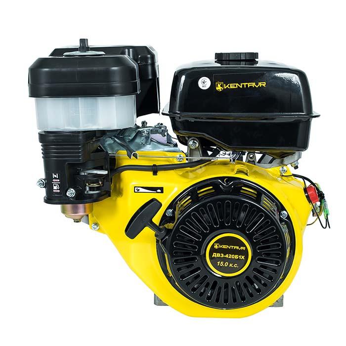 Двигатель бензиновый Кентавр ДВЗ-420Б1X (15 л.с.+понижающий редуктор)
