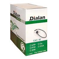 Воля Dialan UTP cat5E, 2-х парка, сечение 0,48 медь