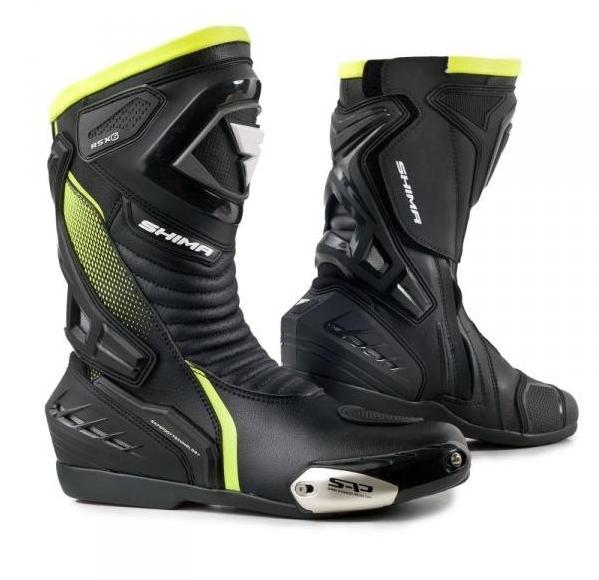 Мотоботы кожаные Shima RSX-6 (Fluo)