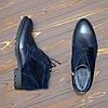 Ботинки мужские комбинированные на шнурках, цвет синий, фото 4