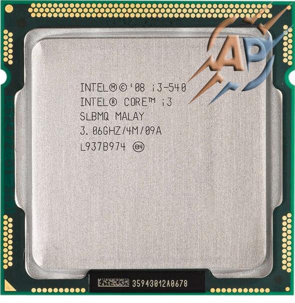 Процессор Intel Core i3-540 3.1GHz  Socket 1156