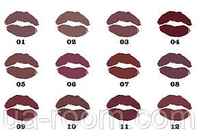 Двухстороннийблеск и помада Huda Beauty Lipstick & Lipgloss, фото 2