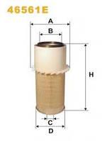 Фильтр водушный CASE, JOHN DEERE, CATERPILER, IVECO (46561E)