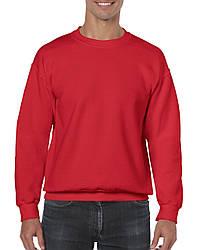 Реглан Heavy Blend, красный, GILDAN, размеры от S до 2XL