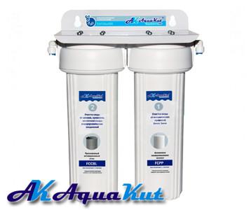 Фильтр под мойку двухступенчатый AquaKut FPR-2 Премиум