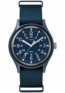 Чоловічий годинник  Timex TW2R37300 Blue