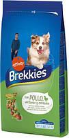 Сухой корм Brekkies Dog with Chicken для собак всех пород на развес