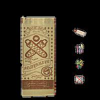 """Бумажный Пакет Крафт """"Французский  FAST FOOD"""" 170х70х40мм (ВхШхГ) 40г/м² 100шт (841)"""