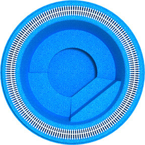 """Бассейн """"Мираж-1""""(диаметр: 2.5 м,  глубина: 0.83 м)"""