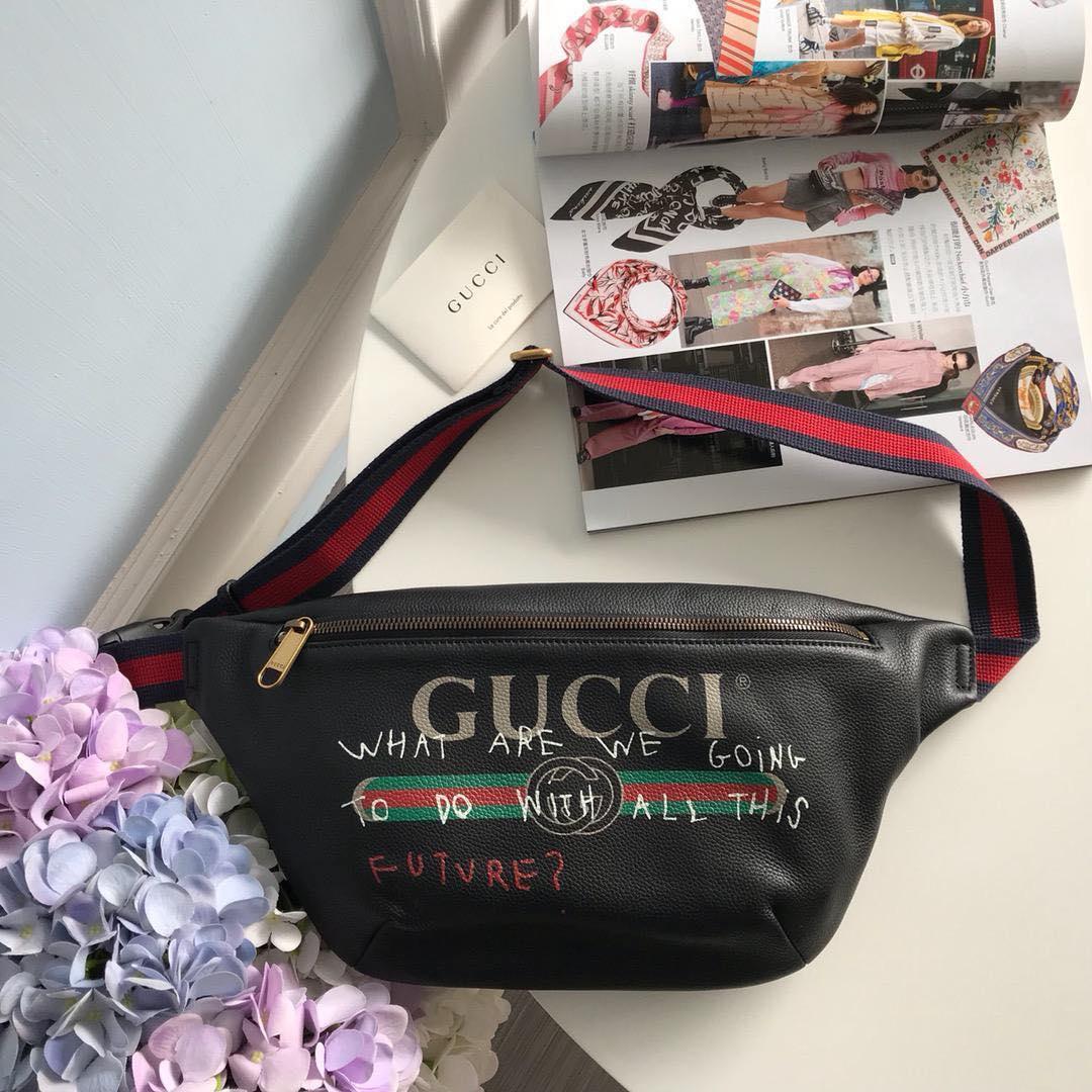Мужская сумка на пояс Gucci