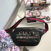 Мужская сумка на пояс Gucci, фото 1