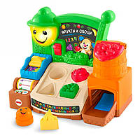 Интерактивная игрушка Сортер Fisher Price Учебный магазин Веселые фрукты  (рус.-англ.) FBM32