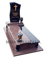 Одинарний гранітний пам'ятник 1121