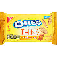 Печенье Oreo Thins Salted Caramel, фото 1