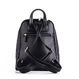 Женский черный рюкзак Polina, фото 4