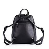 Женский черный рюкзак Polina, фото 3