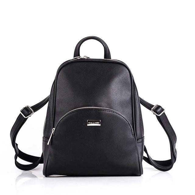 Женский черный рюкзак Polina