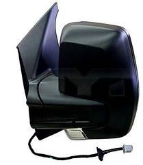 Левое зеркало Форд CUSTOM электрический привод; с обогревом; текстура; выпуклое; с указ. поворота; без подсветки / FORD TRANSIT CUSTOM (2012-)