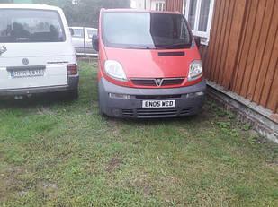 Авторозборка Renault Trafic 2.5tdci 2001-2007