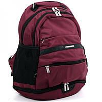 """Школьный рюкзак """"Dolly""""  бордо, фото 1"""