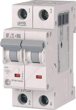 Автоматический выключатель 25А, тип C, 2 полюса, HL-C25/2 Eaton