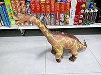 Динозавр большой резиновый со звуком 80 см