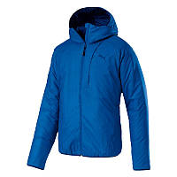Куртка спортивная мужская Puma warmCELL PAD 851599 37 (синего цвета, осень-зима, прямого кроя, логотип пума)