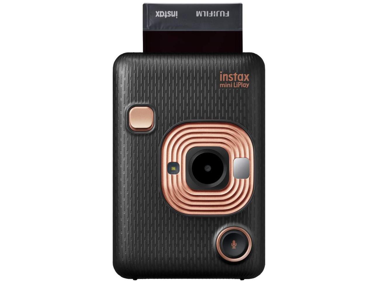 Камера моментальної печатим instax mini liplay elegant black