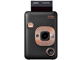 Камера моментальной печатим instax mini liplay elegant black