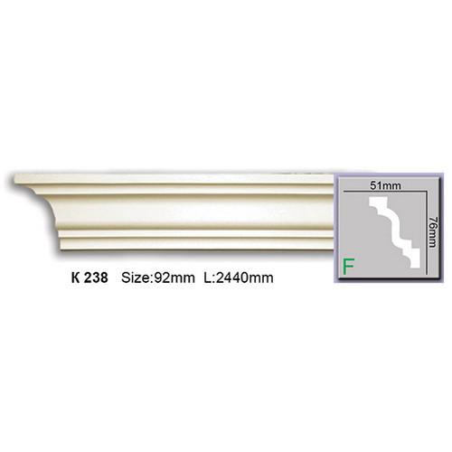 Карниз Harmony K238 (76x51)мм