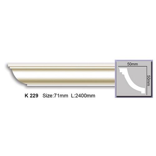 Карниз Harmony K229 (50x50)мм
