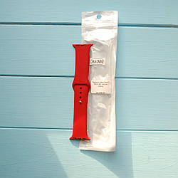 Ремешок Apple Watch 38mm M/L silicone Cherry